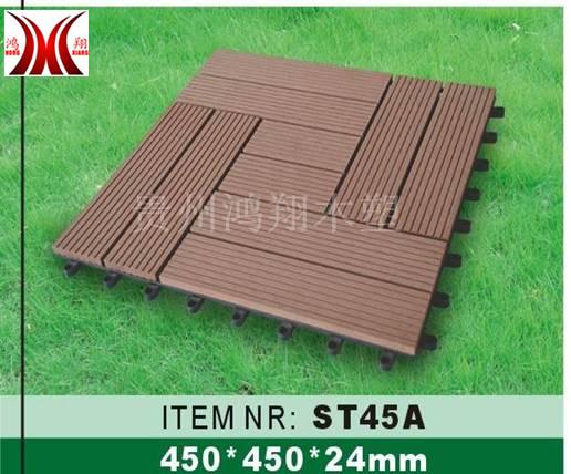贵州贵阳阳台木塑地板